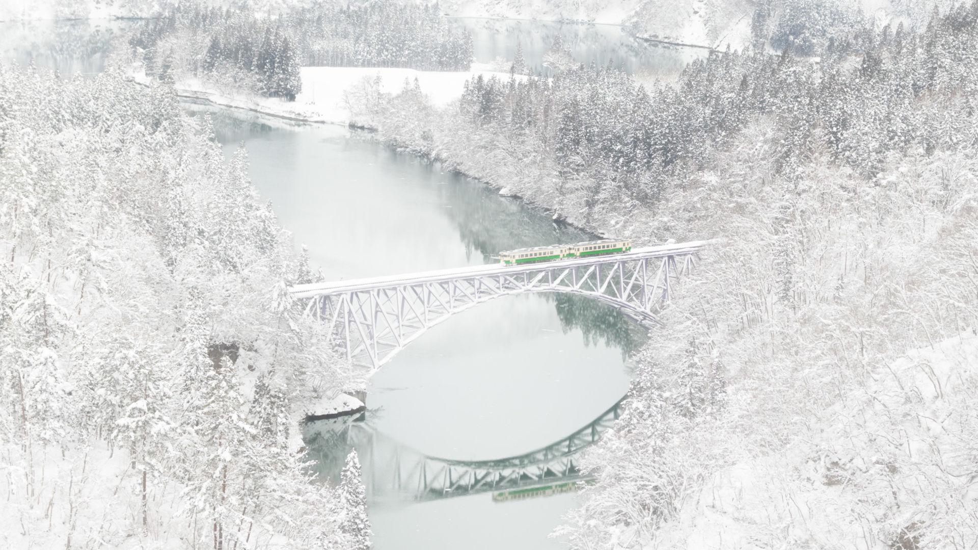 "Canon 80d Used >> Learn more about ""Tadami river first bridge (Fukushima ..."
